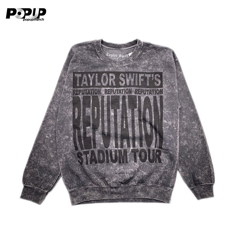Taylor Swift Reputation灰色卫衣